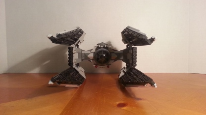 TIE Interceptor made using only parts from the official 9492 TIE Fighter set. I found the instructions on Reddit courtesy of u/Im_clean
