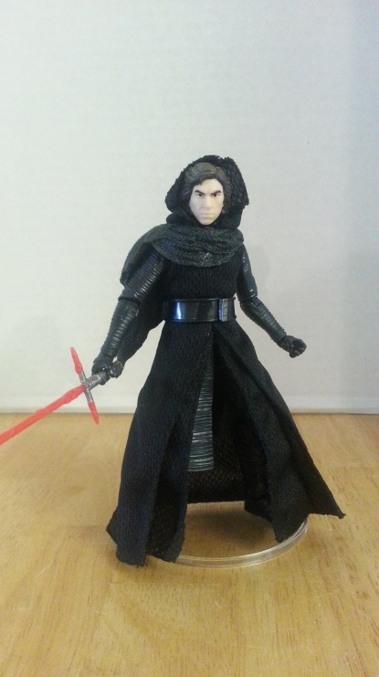Kylo, ignited saber