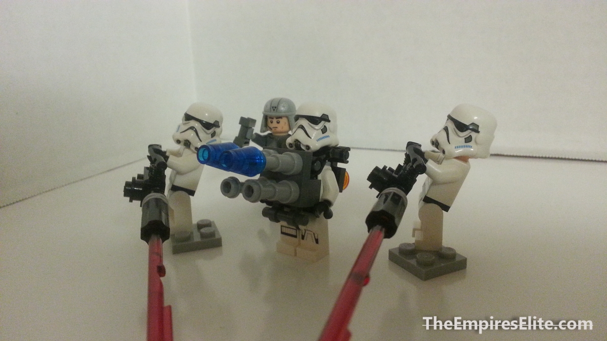 The Big Guns (Mini-MOCs)