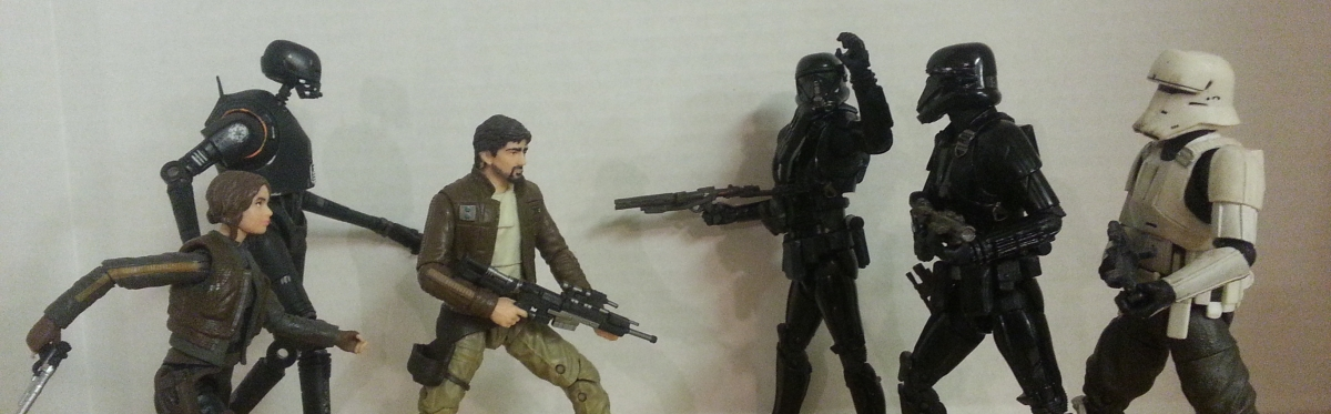 Black Series: Cassian Andor and the Death Trooper (Variants)