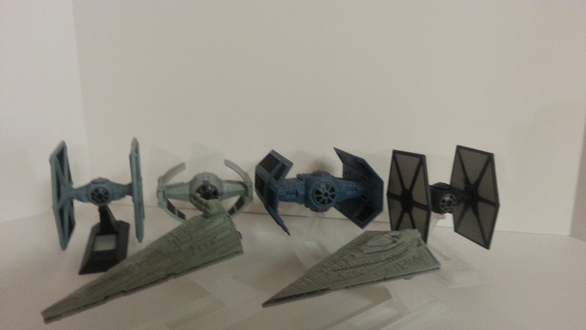 Collection Photos: The Black Series Fleet