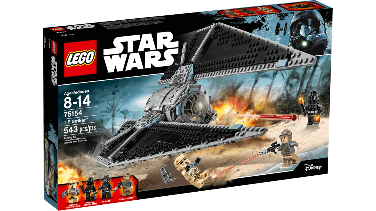 Lego TIE Striker – A TIE for a New Occasion (Review)
