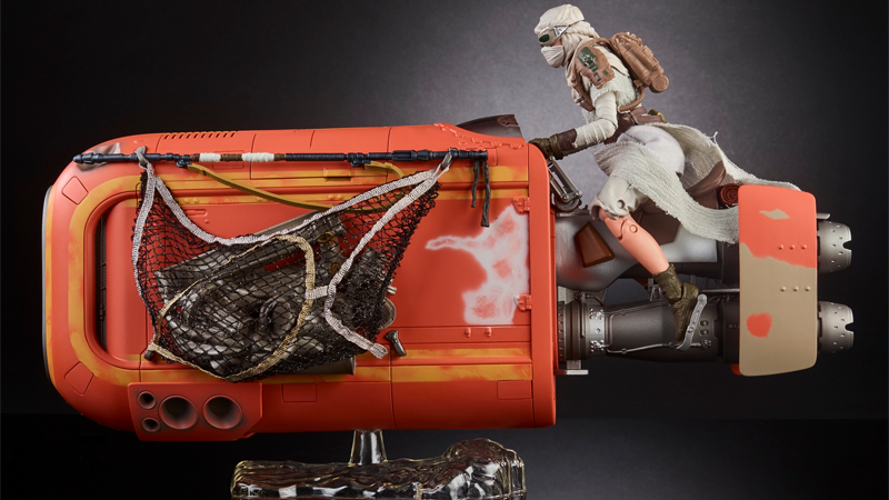 New Black Series Rey's Speeder 6″ Scale Revealed
