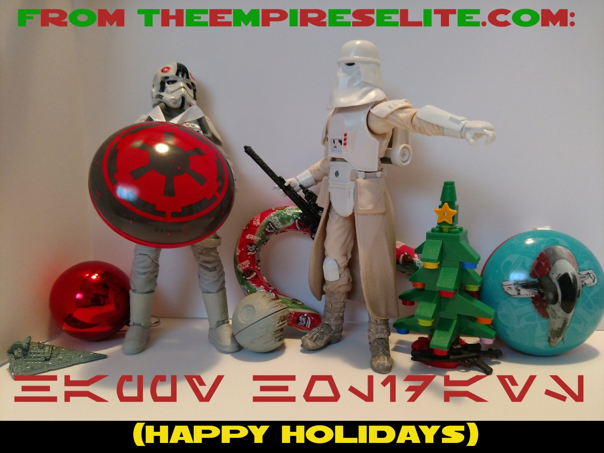 Happy Holidays and Lego Leaks!