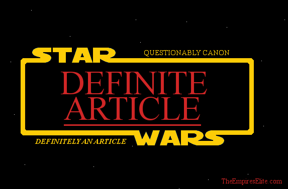 Definite Article: The Rise of Skywalker Unpacking Your Disappointment (or How Nerds Need to Learn to Calm Down)
