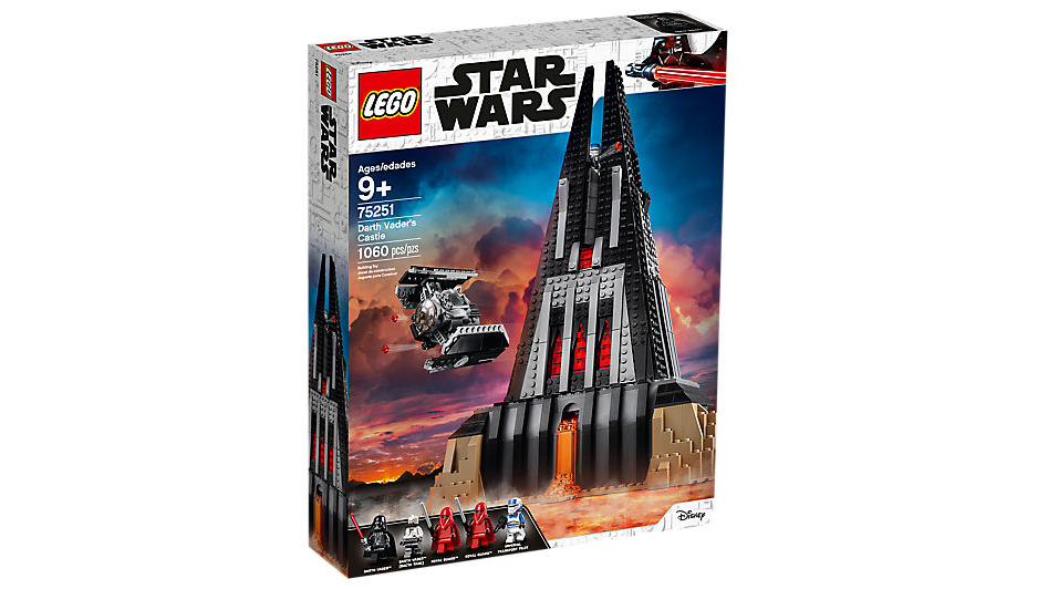 Castle Vader Comes to Lego