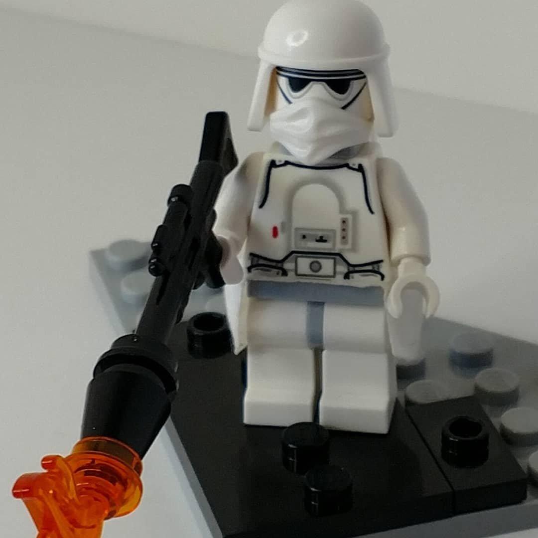 fits Lego Mini figs//figures pack of 4 Custom Star Wars Storm Trooper Blaster
